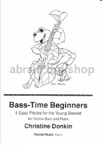 Bass-Time Beginners for double bass & piano