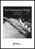 Five Contemporary Dances for saxophone & piano