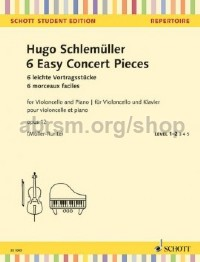 6 Easy Concert Pieces (Cello)