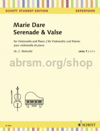 Serenade & Valse Dare Marie Cello And Piano