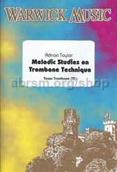 Melodic Studies on Trombone Technique (treble clef)
