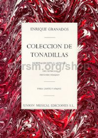 Coleccion de Tonadillas Complete Voice & Piano