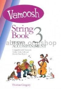 Vamoosh String Book 3 - Piano Accompaniment