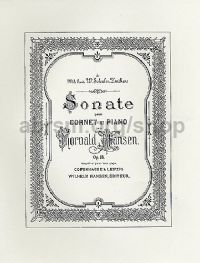 Sonata for Cornet & Piano, Op. 18