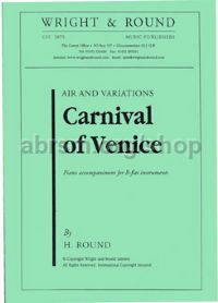 Carnival of Venice for Bb instrument & piano