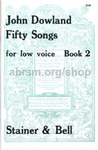 50 Songs Book 2 (Low Voice)