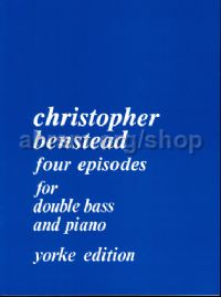 Four Episodes for double bass & piano