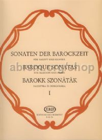 Baroque Sonatas 1 for bassoon & piano
