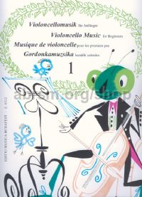 Violoncello Music for Beginners, Vol. 1 for cello & piano
