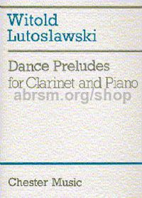 Dance Preludes 1954 for Clarinet & Piano