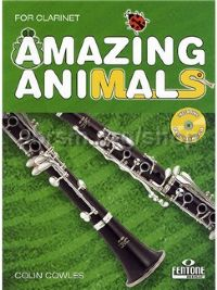 Amazing Animals Clarinet (Bb) Cowles Book & Cd