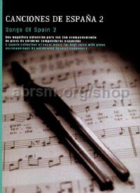 Songs of Spain 2 for high voice & piano