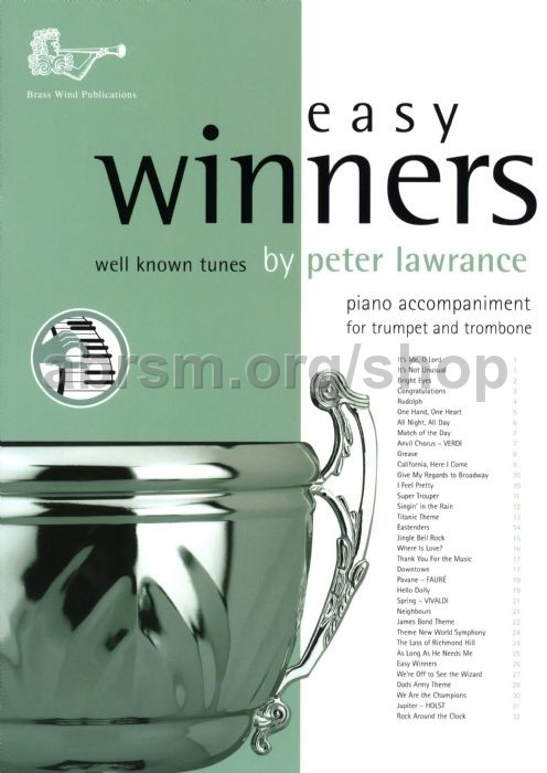 Various - Easy Winners for Trumpet, Horn, Euphonium & Eb