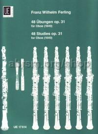 FERLING 48 ETUDES Op31 FOR OBOE OR SAXOPHONE