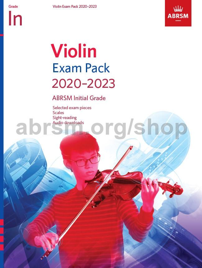 Violin Exam Pack 2020-2023, Initial Grade