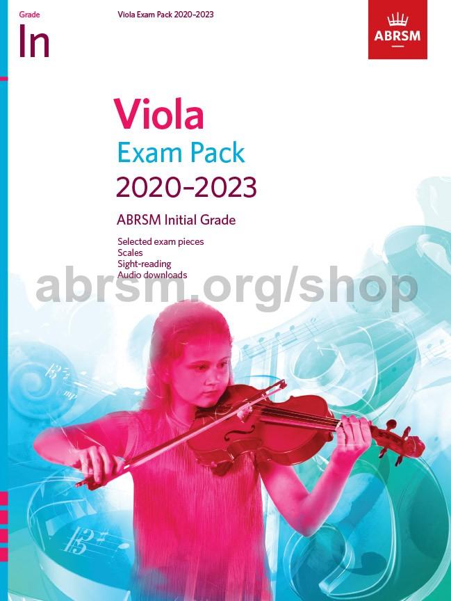 Viola Exam Pack 2020-2023, Initial Grade