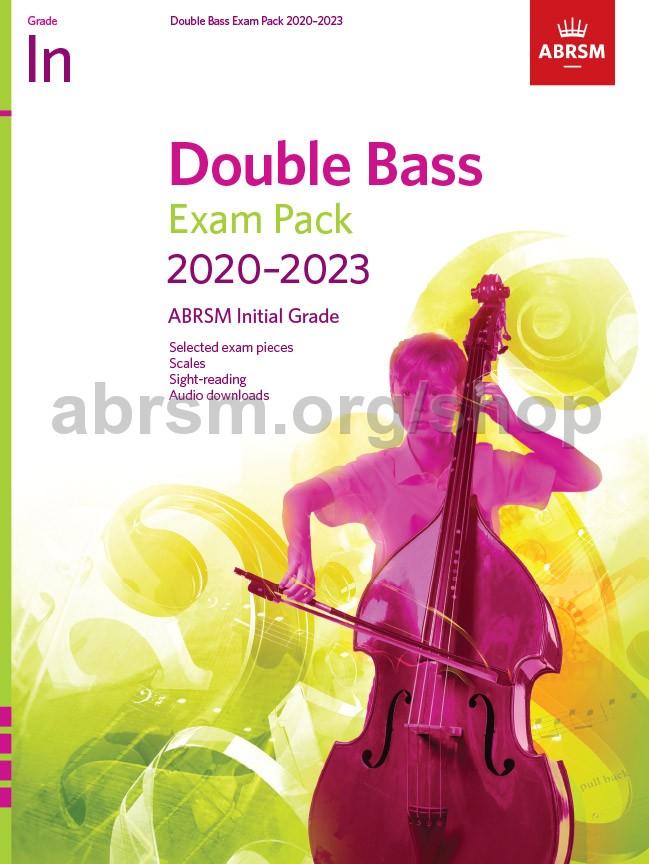 Double Bass Exam Pack 2020-2023, Initial Grade