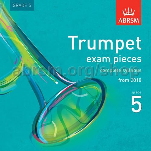 ABRSM - Trumpet Exam Pieces 2010 CD, ABRSM Grade 5