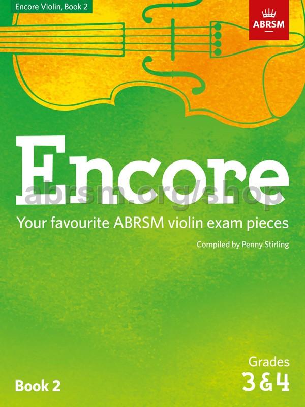 Encore Violin, Book 2, Grades 3 & 4 - Stirling, Penny