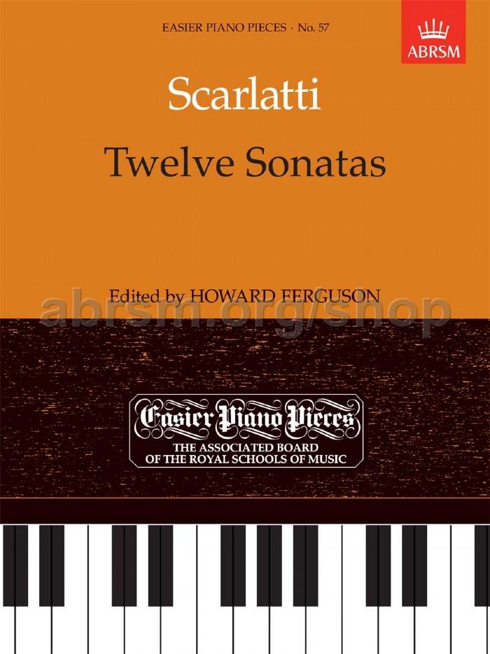 Scarlatti, Domenico - 12 Sonatas for piano solo