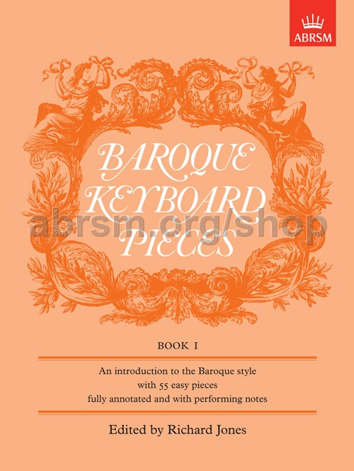 Baroque Keyboard Pieces Book 1 Abrsm