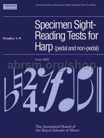 Kanga, Skaila - Specimen Sight-Reading Tests for Harp, Grades 1–8