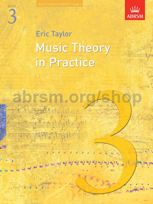 Music Theory In Practice Abrsm Grade 5 Exam By Eric Taylor Instruction Books & Media