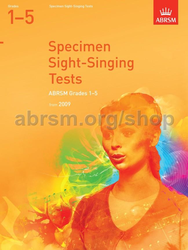 Specimen Sight-Singing Tests, Grades 1–5 - ABRSM