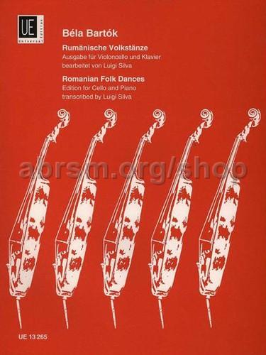 Musical Instruments & Gear Bartok Rumanian Folk Dances Cello* Instruction Books, Cds & Video