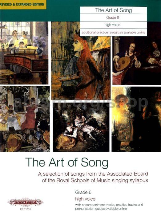 Various - Art of Song Grade 6 (High Voice)