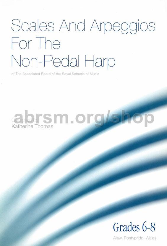 Thomas - ABRSM Scales & Arpeggios for non-pedal harp (Grades 6-8)
