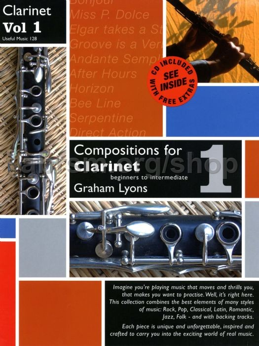 Graham Lyons - Compositions for Clarinet vol 1: Beginner to